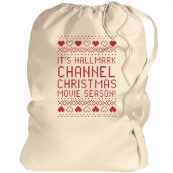 Hallmark Channel Christmas Season Santa Bags