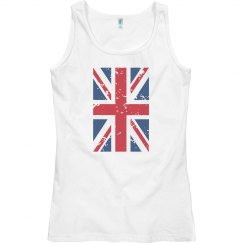 British Flag Shirt Clothing Womens Racerback Tank Top