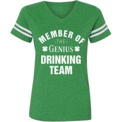 Irish Genius Drinking Team