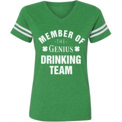 Irish Genius Drinking Team