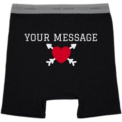 Customizable Valentine's Day Boxer Briefs