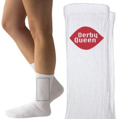 Roller Derby Queen Socks