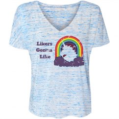 Unicorn V-neck Tee