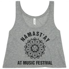 Namast'ay At The Festival
