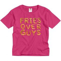 Fries Over Guys Kids Valentine