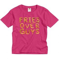 Fries Over Guys Kids Valentine