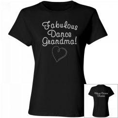 Rhinestone Dance Grandma T-Shirt