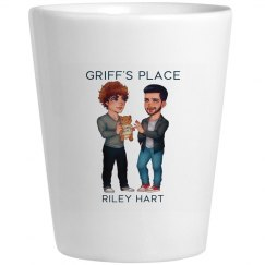 Griff's Place Shot Glass