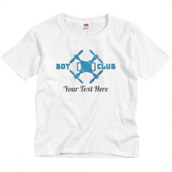 Custom School Bot Club Tee