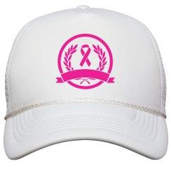 Custom Pink Custom Text Hat