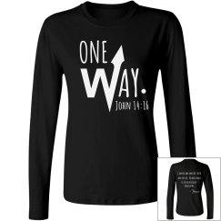 One Way (period) John 14:16
