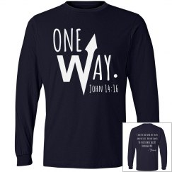 ONE WAY (period) John 14:16
