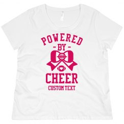 Powered by Cheer Custom Plus Pullover