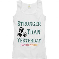 Stronger than yesterday Tank
