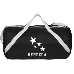 Custom Name Stars Bag