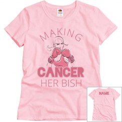 Matching Cancer's Her Bish Group Support