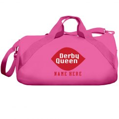 Custom Derby Queen Gym Bag