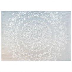 Boho Mandala Print Pastel Rug
