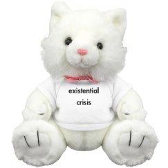 Existential Crisis Cat