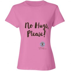 No Hugs, Please T-Shirt