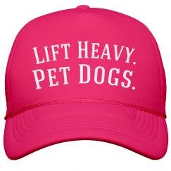 Lift Heavy Pet Dogs Hat