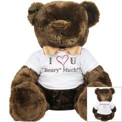 Large Love Bear