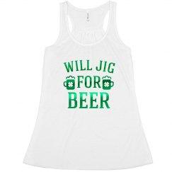 Metallic Jig For Irish Beer