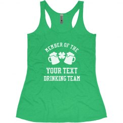 Custom Irish Drinking Team