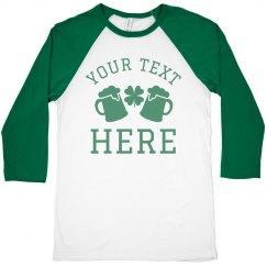 Irish Custom Drinking Shirt