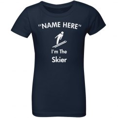 I'm the skier