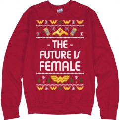 Future Is Female Christmas Sweater