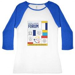 Ladies' National Leadership Forum 3/4 Sleeve Shirt