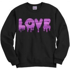 Love (metallic logo)