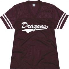 Round Rock dragons shirt.