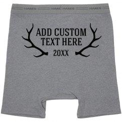 Custom Design Mens Underwear