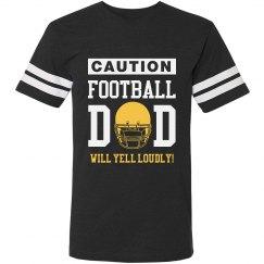 Football Dad's Yell