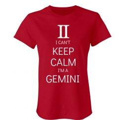 Keep Calm Gemini