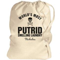 Nicholas laundry bag