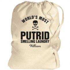 William's laundry bag
