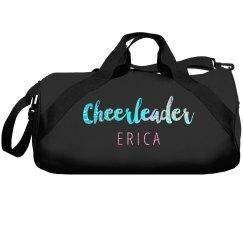 Glitter Cheerleader Duffle Bag