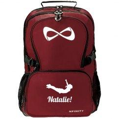 High Flying Custom Name Nfinity Cheer Bag