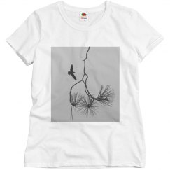 Branches and bird (t-shirt)