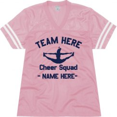 Custom Cheer Football Jersey