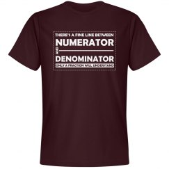 Numerator Denominator