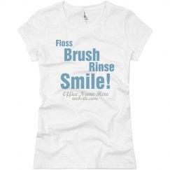 Floss Brush Rinse Smile