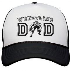 Wrestling Dad Trucker Hat