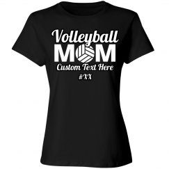 Mom Volleyball Custom Shirt