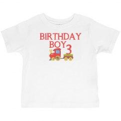 Birthday Boy Train