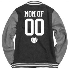 Custom Number Baseball/Softball Mom