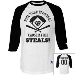 Funny Kid Steals Baseball Mom/Dad